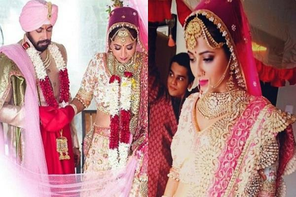 ridheema tiwari ties the knot with jaskaran singh