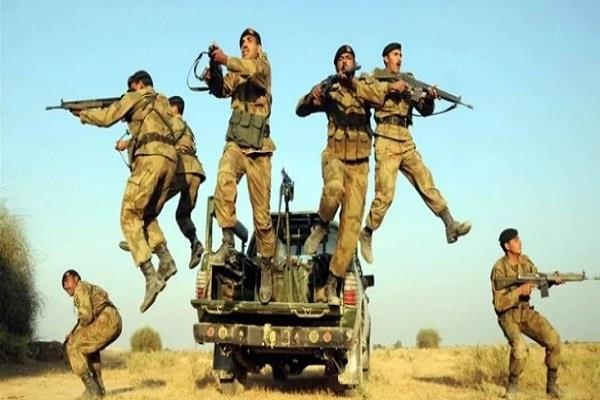 pakistan battalions deployed from international border to loc