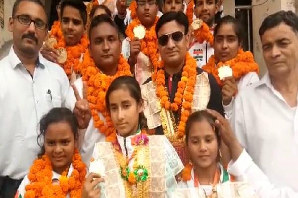 india international karate championship medal