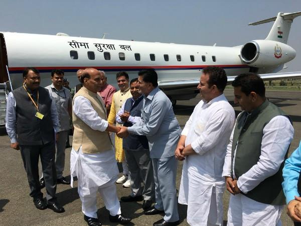 rajnath singh j k tour today