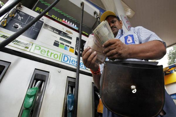 gst falls under petrol and the government will suffer huge losses