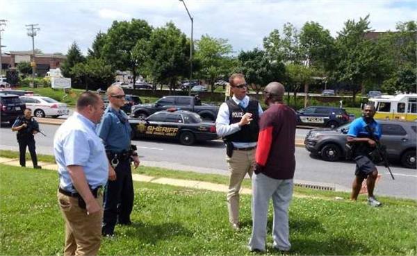 us capital gazette shooting 5 dead gunman in custody