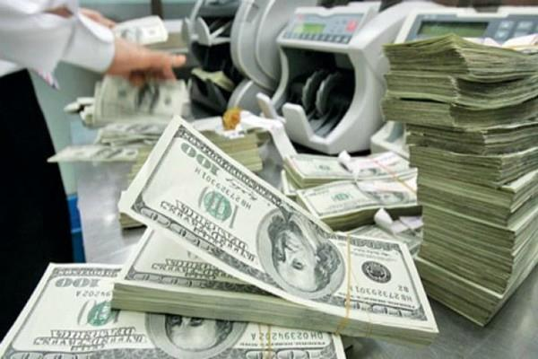 foreign exchange reserves decreased by 59 37 million dollar