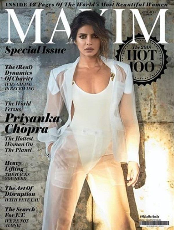 priyanka chopra titled hottest woman on the planet
