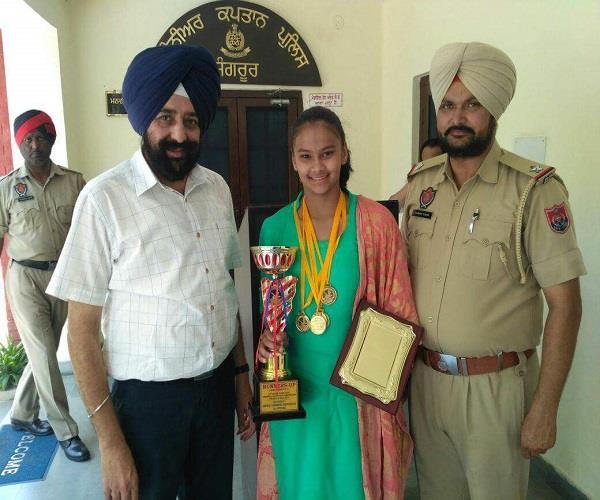 deepali 5 gold medal winning golden girl