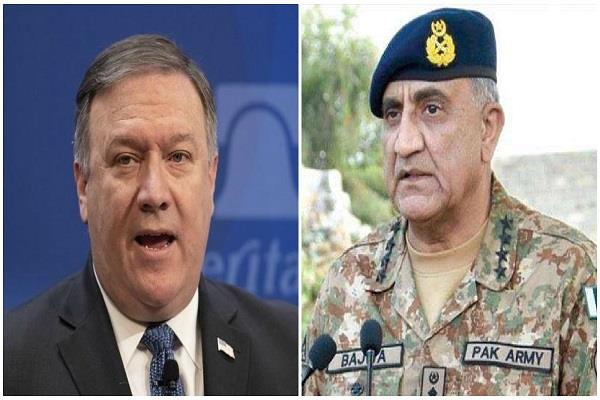 us external affairs minister told pak army chief  take action against terrorists