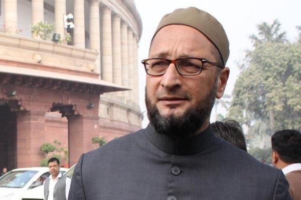 owaisi says congress time is over