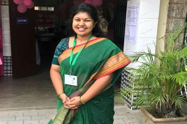 soumya reddy wins in jainagar seat