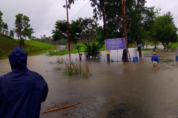 mizoram rain odisha tripura