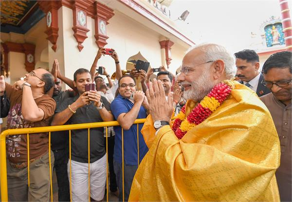 pm modi s 191 year old temple exhibition mahatma gandhi s plaque also unveiled