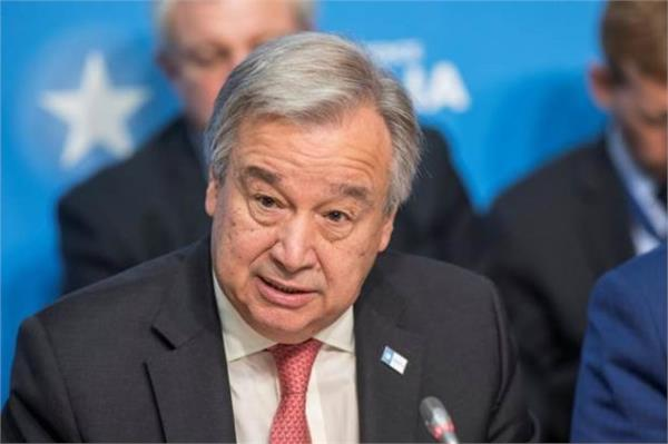 india is very important inspiration un chief antonio guterres