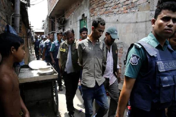 8 accused arrested in connection with country s opponents 9 held in custody