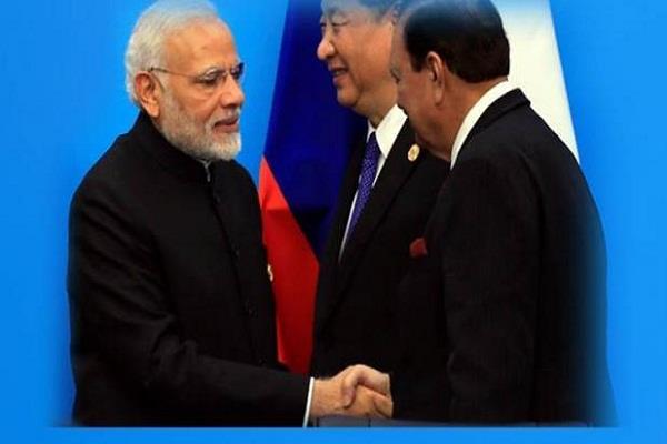 sco summit pm modi s dua salute to president