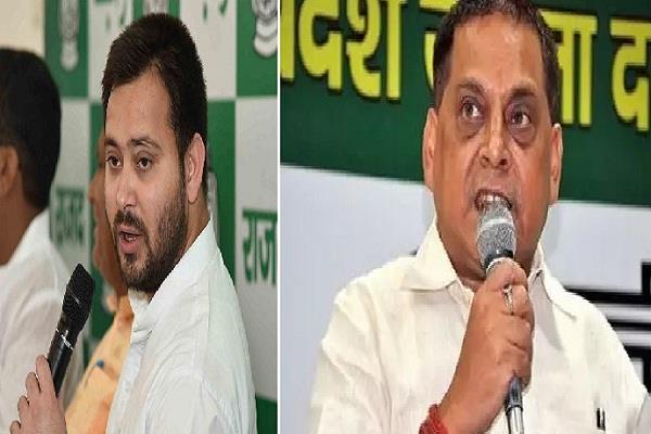 jdu leader targets tejashwi yadav