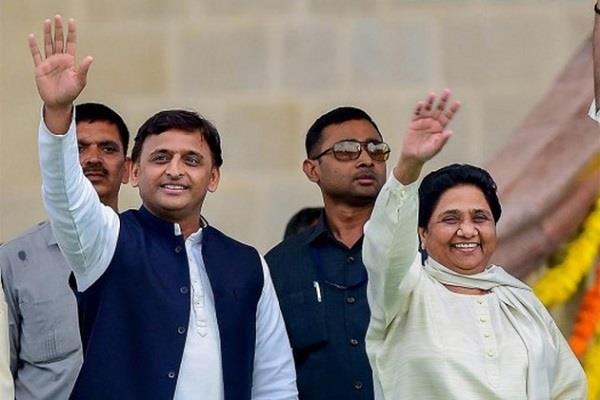 akhilesh again reacts to sp bsp coalition