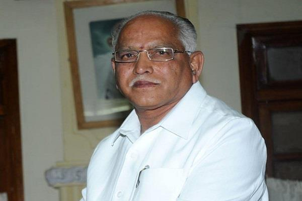 yeddyurappa claim congress leader want to connect with bjp