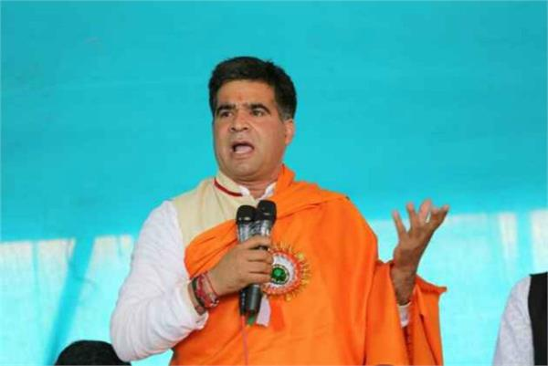 j k threatens to kill bjp president ravindra rana