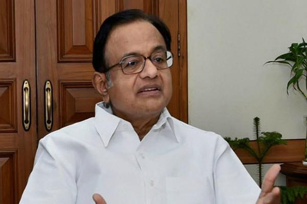 chidambaram happy with pranab mukherjee speech at rss headquarters