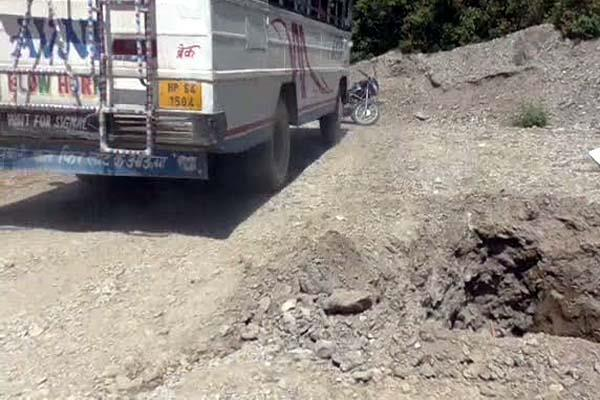 here negligence of public works department can be heavy