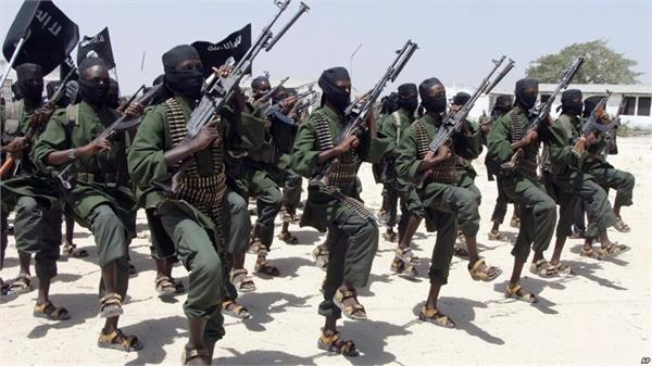 al shabab has the responsibility of attacking the american soldiers