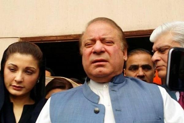 sharif leaves uk to see sick wife