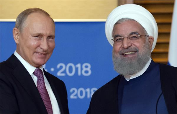 rouhani and putin will discuss the issue of exit from the nuclear agreement