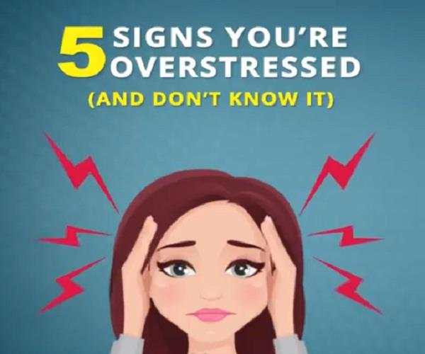 5 signs you re overstressed