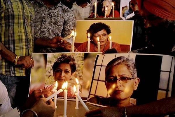 hc seeks report about gauri lankesh case