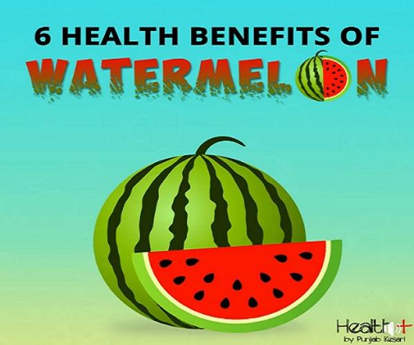 6 health benefits of watermelon