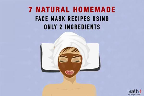 7 natural homemade face mask recipes using only 2 ingredients