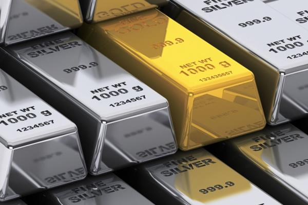 gold falls on muted demand silver up on increased offtake