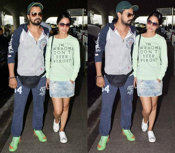 hina khan enjoy with boyfriend rocky jaiswal
