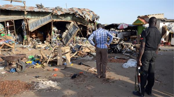 at least 31 people die in suicide attack in nigeria