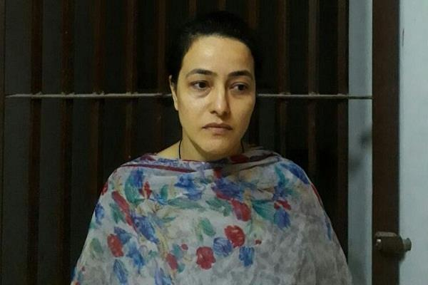 all the accused including honeypreet were presented in panchkula court