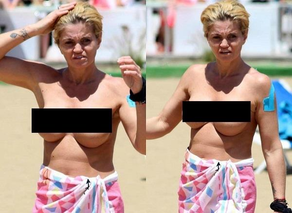 danniella westbrook spain topless pictures