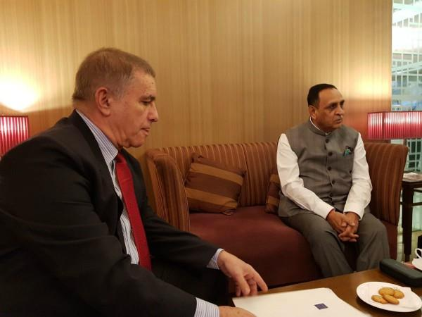 gujarat chief minister vijay rupani on 6 day israel visit