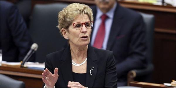 kathleen win resigns from post given in ontario election defeat