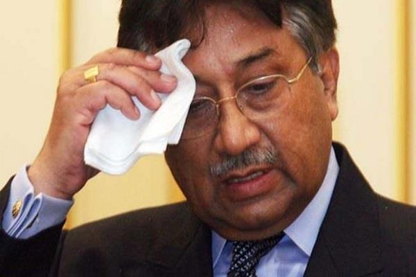 musharraf shocked the plan to return to pakistan