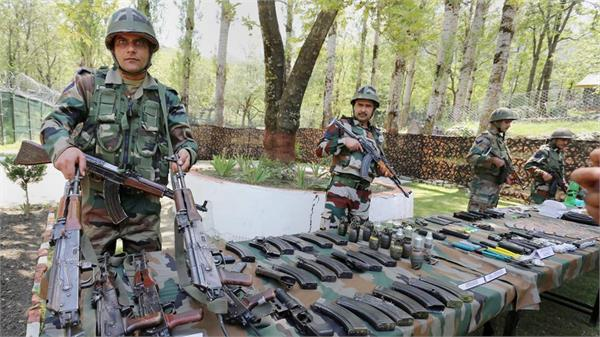 the terrorists killed in the keran sector had modern weapons