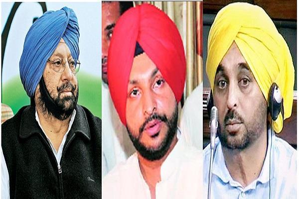 captain bittu rebuked bhagwant mann to join congress