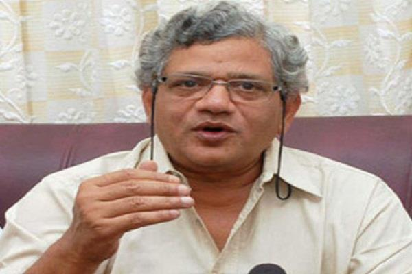 chances of becoming a coalition coalition before lok sabha elections yechury