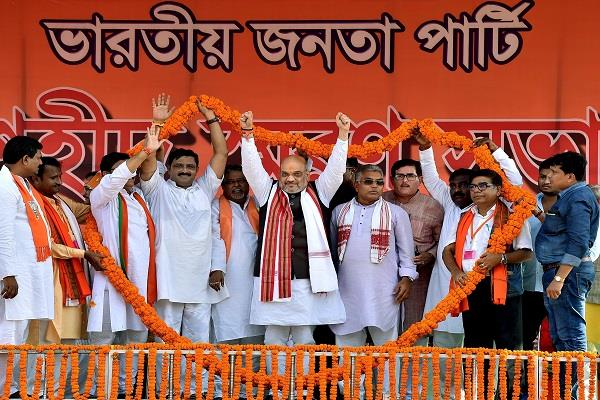 shah will hold rally today in west bengal