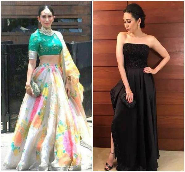 karishma kapoor look beautiful in every dress