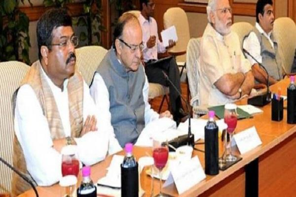 modi cabinet meeting ends several bills stamped on