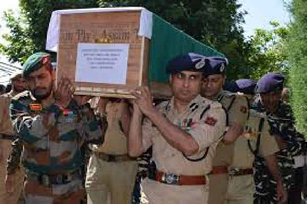 pulwama militant attack martyr son recall the memory of father