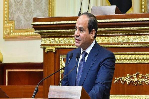 egypt sisi sworn oath for second term as president