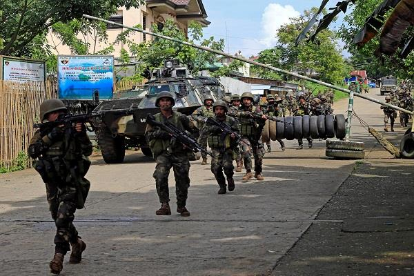 security forces kill 15 terrorists in philippines