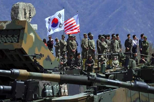 south korea us military exercise may be postponed yonhap