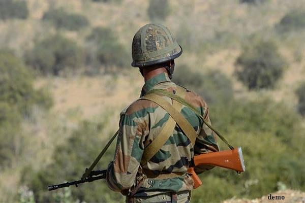 jammu kashmir military officer dies in accidental shot in anantnag