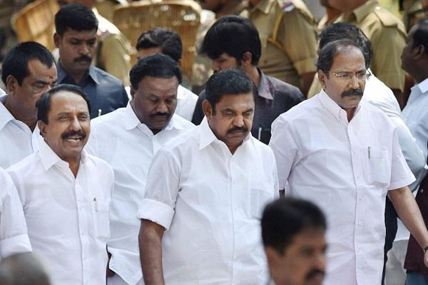 decision can come today in regard to disqualifying 18 mlas of aiadmk